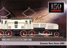 "Marklin 2009 Summer ""New Items"" Catalogue - 150th Ann."