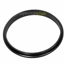 52-55mm 52mm to 55mm double male coupling Ring Adapter For Filter CPL ND UV Star