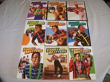 Family Matters TV Show Complete Seasons 1-9 DVD FREE SHIPPING 1 2 3 4 5 6 7 8 9