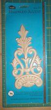 House of Fara Hardwood Accent item #312 wood ornamental decoration shabby chic