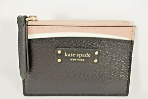 Kate Spade NY Jeanne Small Zip Card Holder WLRU5583, NWT $59
