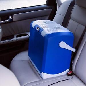 Wagan Portable 12V Car Travel Cooler/Warmer 30 Min Cooling Holds four 2L Bottles