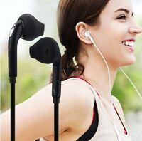 ÉCOUTEURS MICRO AUDIO CASQUE POUR SAMSUNG APPLE IPHONE 5/6/S/C noir