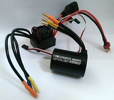 1/10 RC Car Buggy 4P 3650 Sensorless BRUSHLESS 4300KV Motor & 60A ESC Combo Set
