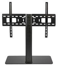 """MEUBLE SUPPORT SOCLE TELEVISION TELE TV ECRAN LCD PLAT 32-65"""" 45 kg REGLABLE"""