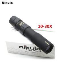 Jouni Nikula 10-30x25 zoom telescopio monocular de alta calidad de bolsillo Binoculo caza