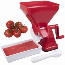 Tomato Strainer- Juicer Food Mill for Easy Purees- No Coring, Peeling or Deseed