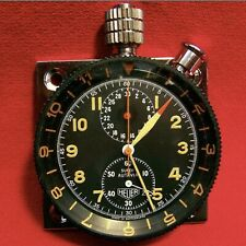 HEUER Super Autavia Chronograph Watch  Serviced by TAG Switzerland New Crystal