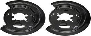 Dorman 924-225 1PR. Rear L/R Brake Dust Shield Backing Plate 52009967 AJ