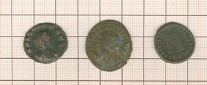 3 Color Bronzo: Aurelian Salonine E Constantin