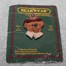 Nice Boyds Bears & Friends Bearwear Hinge Back Pin