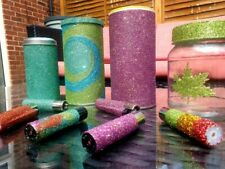 Glittered Lighters Handcrafted