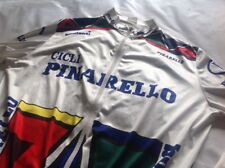 CYCLING JERSEY WIND BREAKER PINARELLO LONG SLEEVE RETRO 90s - SIZE M/L