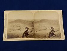 BOER WAR STEREOVIEW – LOOKING OVER THE 12TH BRIDGE CAMP & SIGNAL HILL