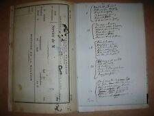 VERLAINE Odes en son honneur édition fac similaire manuscrit original 1925 RARE