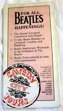 The Beatles Cavern City Tours Annual Liverpool Convention Leaflet/Program