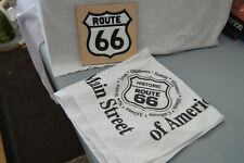 Route 66 Ceramic Tile Wall Decor and White Route 66 Bandanna - New