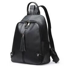 Korean Women Genuine Cow Leather Backpack Travel Bag handbag Fashion Book Bag