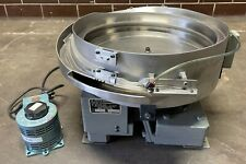 Hendricks Engineering 18 Vibratory Bowl Feeder Withstaco Variable Autotransformer