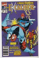 Excalibur No.25 1990 Galactus Chris Claremont /& Chris Wozniak