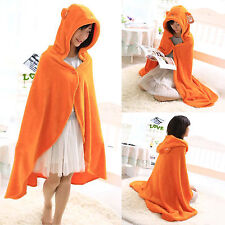 Anime Himouto Umaru-chan Cosplay Cloak Flannel Hoodie Coat Blanket Quilt Robe AU