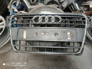 AUDI A4/S4 (2005-2009) S-Line Front Bumper Radiator Grill Assembly damaged