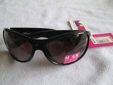 M: Reino Unido Tribeca Wrap gafas de sol Marco Negro. Nueva.