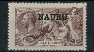 Nauru Scott 13 in MH Condition
