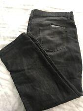 PAPER DENIM & CLOTH JEANS PDC Men's Straight Leg Grey Jeans Size 46x30