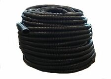 "50 Ft - 1/2"" Inch Black Split Loom Wire Hose Cover Conduit Poly Tube Tubing 4"