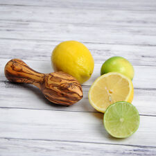 Sale! Lemon Squeezer Olive Wood Hand Reamer Citrus Hand Juicer