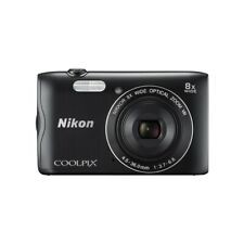"Nikon A300 COOLPIX Digital Camera 20.1MP with 2.7"" Display, Wifi, NFC - Black"