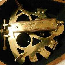 Brass Stanley London Sextant Reproduction