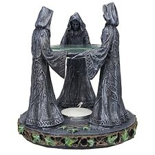 Triple Goddess Mother Maiden Crone Ceremonial Oil Diffuser Decorative Accessory