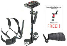 Flycam 5000 Steadycam + Body Pod + Arm Brace Wrist Support Stabilizer Steady Rig