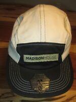 Madison House Mens Baseball Cap, Hat, Boulder, Grassroots, Satin, Strapback, NEW