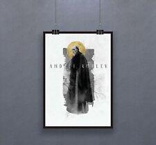 Andrei Rublev (1966) Poster Soviet biographical historical drama film Decor Art