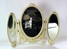 More details for vintage french louis style dressing triple table mirror [6413]