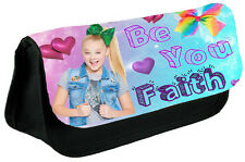 Personalised Jojo Girls Kids-School black Pencil Case Make Up Bag!! NEW!