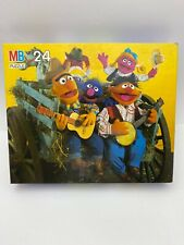 SESAME STREET Puzzle MB 1993 24 Piece VERY GOOD CONDITION Vintage