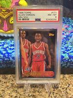 1996 Topps NBA 50th Anniversary Allen Iverson Rookie #171 PSA 8