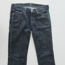 7 For All Mankind Womens Jeans Size 27 W31 L34 Bootcut Blue Denim Zip Fly
