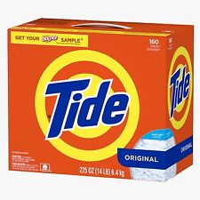 Tide Laundry Detergent Powder Original 160 Loads - 225 Oz.