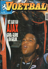 MAGAZINE VOETBAL 1995 nr. 10 - AJAX - AC MILAN (AJAX WINNAAR CHAMPIONS LEAGUE)