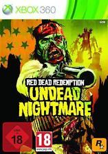 XBOX 360 Red Dead Redemption Undead Nightmare * ottime condizioni