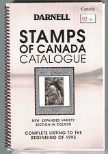 DARNELL STAMPS OF CANADA CATALOGUE listings to 1993 Illustrated in color