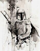 Boba Fett Star Wars Painting
