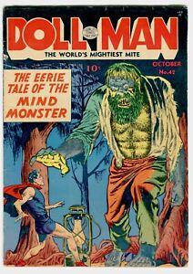 DOLLMAN #42 VG/F Horror cover.