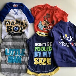 SimplyDog & Other Brands - LOT Of 5 Small To XSmall Best Friend Apparel P