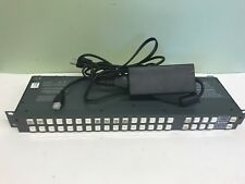 Leitch Panacea P-16HSCQ P16HSCQ 16 Input HD / SDI Video Router with Power Supply